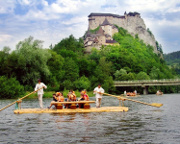 Orava castle and rafting (27 km)